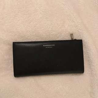NAKED VICE LEATHER WALLET PURSE