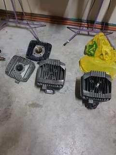 RXZ parts Y1 top & block