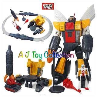 [ In Stock ] Transformers Weijiang Terminus Giganticus Ultima Guard