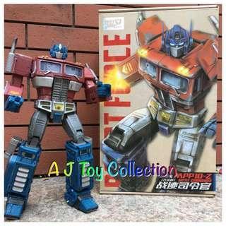 [ In Stock ] Transformers WeiJiang MPP10Z KO Oversize Optimus Prime
