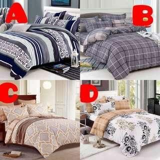 Queen Fitted Bedsheet Set