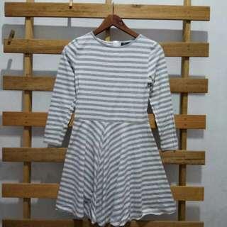 Ohvola Stripes Casual Dress