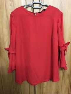 Dorothy Perkins Chilly Red Blouse