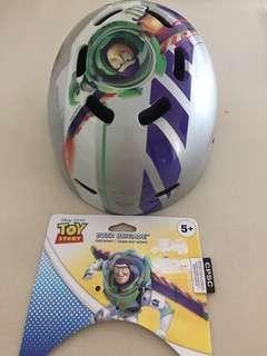 Unused Disney Buzz child head helmet