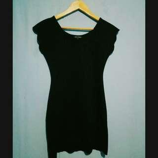 Black Body Fit Dress