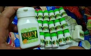 Queen slim obat diet ampuh isi 30 kapsul