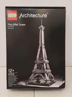 Lego 21019 Eiffel Tower Architecture - brand new MISB