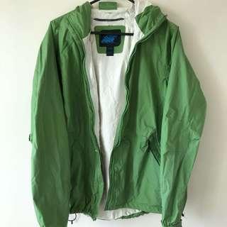Green Windbreaker