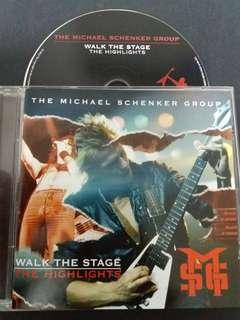 The Michael schenker group (walk the stage) cd rock