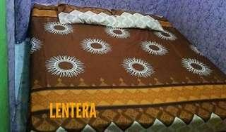 sprei home made,sarung bantal,sarung guling,linen,cover