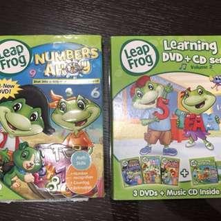 Leapfrog 4 learning DVD + 1 CD