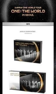 [PO] WANNA ONE WORLD TOUR ONE: THE WORLD IN SEOUL DVD
