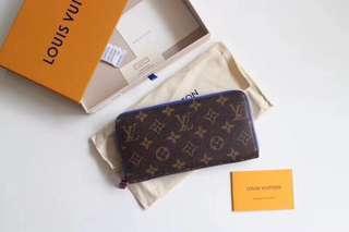 LV wallet single pull 3 color models M60019 material cowhide PVC size 19 / 10 / 2cm