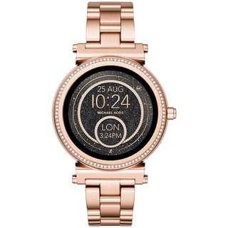 Michael Kors Sofie Rose Gold Smartwatch