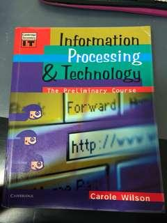 Information Processing & Technology Textbook - Carole Wilson