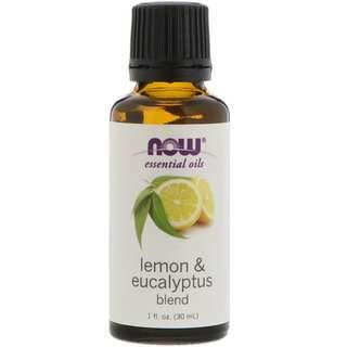 Now USA (#Young Living) Lemon & Eucalyptus Essential Oils Blend (30 ml)