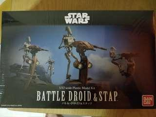 Star Wars - Battle Droid & Stap