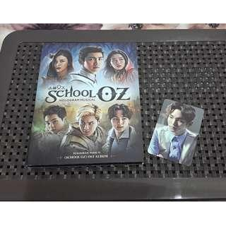(PRICE REDUCED) [WTS / WTT] SCHOOL OZ HOLOGRAM MUSICAL OST ALBUM ( KEY SHINEE PC )