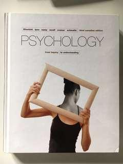 PSY 102: Psychology 3rd Canadian Edition