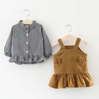 Baby Korean TOP and Dress