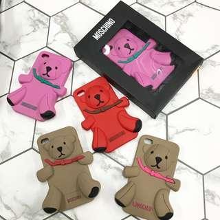 Moschino bear case iPhone 4/4S