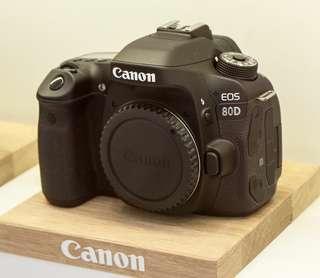 Cheapest! Canon EOS 80D DSLR body