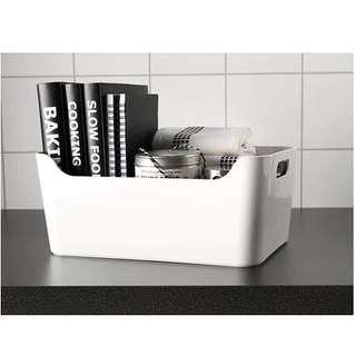 IKEA Variera Box, High Gloss White
