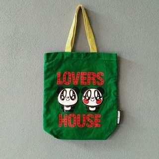Lovers house totebag