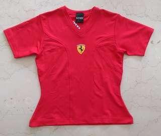 Ferrari Licensed Red Top