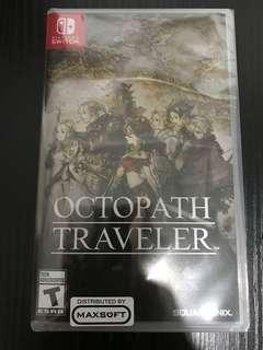 (Brand New Sealed) Octopath Traveler for Switch