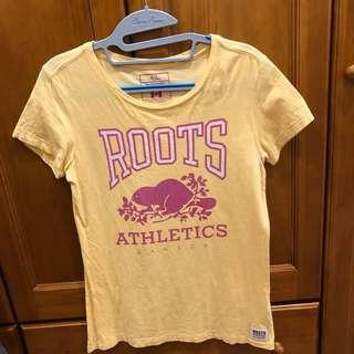 Roots 短袖T恤