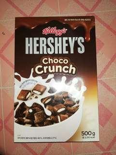 Hershey's choco crunch cereal