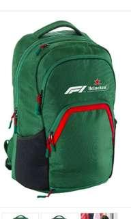 Formula One heineken backpack https://it.heinekenstore.com/en/formula-1-2018-backpack.html