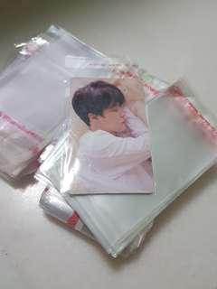 🚚 RESEALABLE PHOTOCARD SLEEVE PROTECTOR INSTOCK