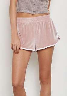 Forever 21 Velvet shorts