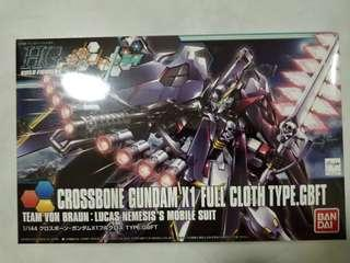 Bandai - 1/144 Crossbone Gundam X1 Full Cloth Type.GBFT