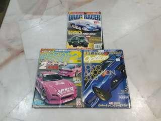 Option japan magazine & usa drag racer
