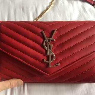 Red YSL Purse / Handbag