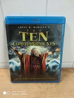 The Ten Commandments - Blu-ray - US import (original)