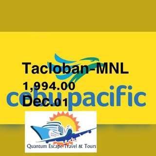 Tacloban- MNL