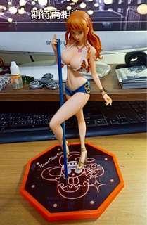 代理版 海賊王 pop limited edition 娜美 模型 公仔
