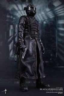 Virtual Toys - Resident Evil Black Storm Guard