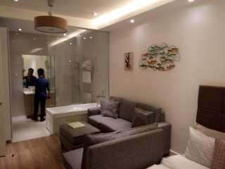 CHEAPEST HI-END ARTISTIC & GLAMOROUS CONDO INVESTMENT 1BR 2BR UNIT NEAR GMA STATION