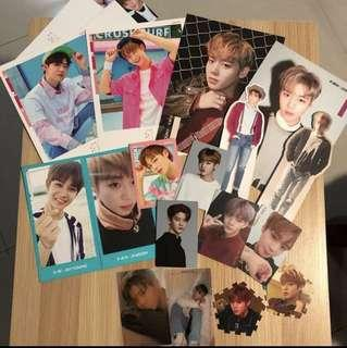 [clearance wts] wanna one official photocards cover magazine
