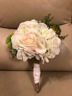 結婚婚禮絲花花球