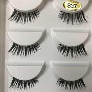 100% Sterilized Human Hair Handmade Genuine Mink Soft Long Natural Thick Makeup Eye Lashes/ Underlash False Eyelashe