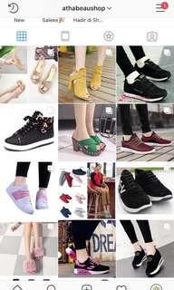 Menyediakan berbagai macam sepatu wanita