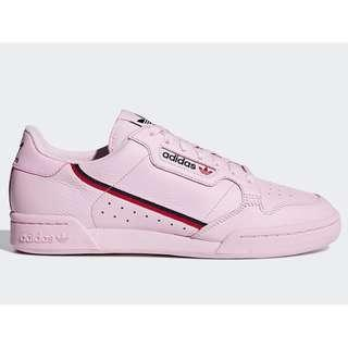 Authentic Adidas Continental 80 Pink