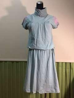 🚚 棉質囍字洋裝