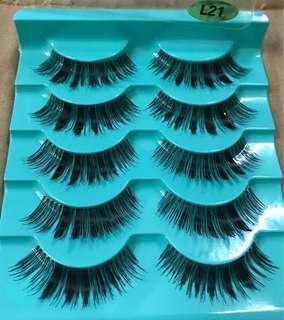 100% Sterilized Human Hair Handmade Genuine Mink Soft Long Natural Thick Makeup Eye Lashes False Eyelashe